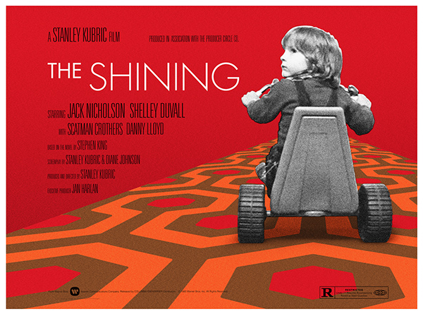 The Shining: Gold and Evil and Sunshine. What makes this a truly great film.