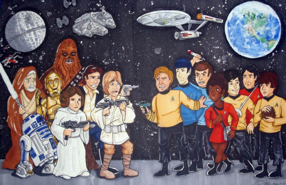 star wars trek